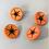 Thumbnail: Orange Starburst Buttons (Large)