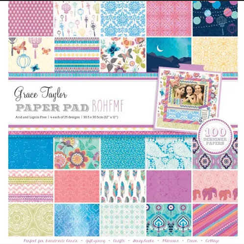 Boheme - Grace Taylor 100 sheet paper pad