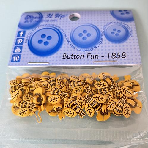 Dress It Up - Button Fun Bee Buttons