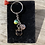 Thumbnail: Black Cat Charms Keyring