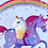 Thumbnail: Unicorn Ice Cream Cone Pin Badge - Purple