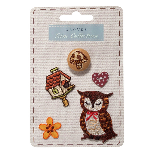 Groves - Woodland Collection -Owl