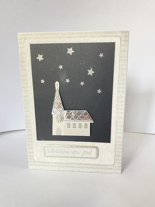 Wishing you joy - Christmas Card