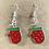 Thumbnail: Red Mittens Christmas Earrings
