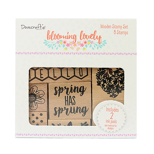 Dovecraft Blooming Lovely Stamp Set