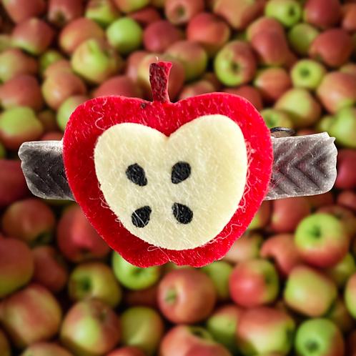 Apple Barrette