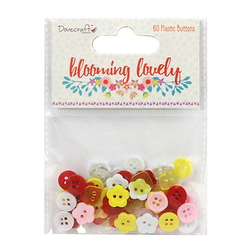 Dovecraft Blooming Lovely Buttons