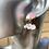 Thumbnail: Pink Stud Sheep Earrings