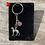 Thumbnail: Greyhound Keyring