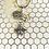 Thumbnail: Bee & Flower Charm Keyring