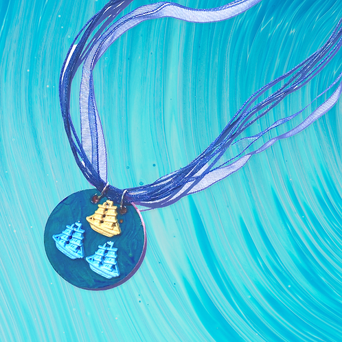 Sailing Ships Necklace