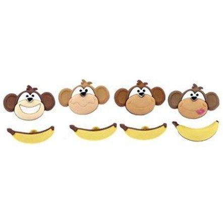 Dress It Up Buttons- Monkey See Monkey Do