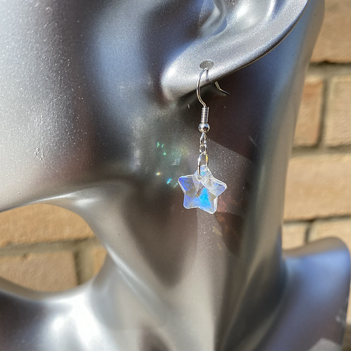 Bright Star Dangle Earrings