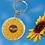 Thumbnail: Sunflower Mum Keyring