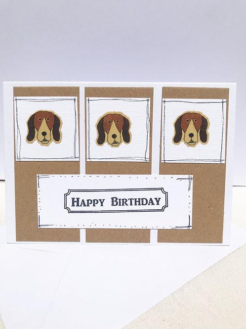 Spaniel - Birthday Card