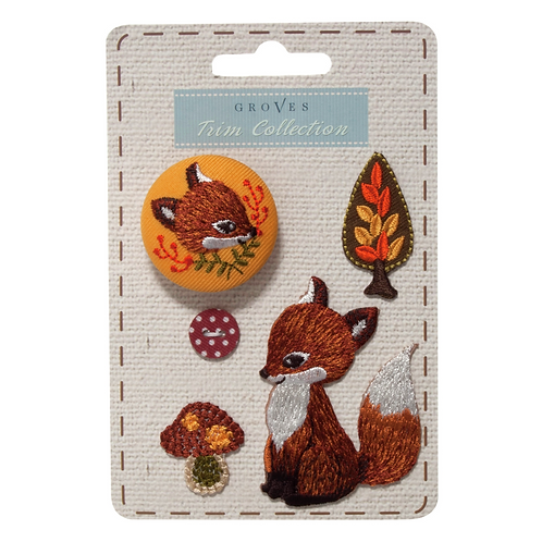 Groves - Woodland Collection - Fox