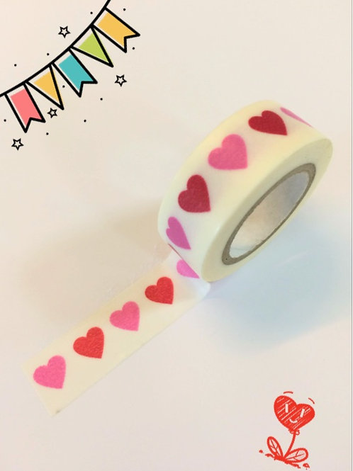 Dovecraft Washi Tape - Hearts