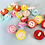 Thumbnail: Round Smiley Face Buttons