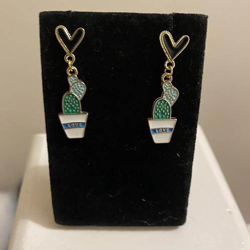 Cactus Love Earrings