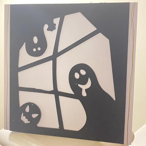 Ghost Window Card