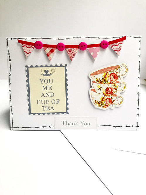 Cup Of Tea Thank You Card