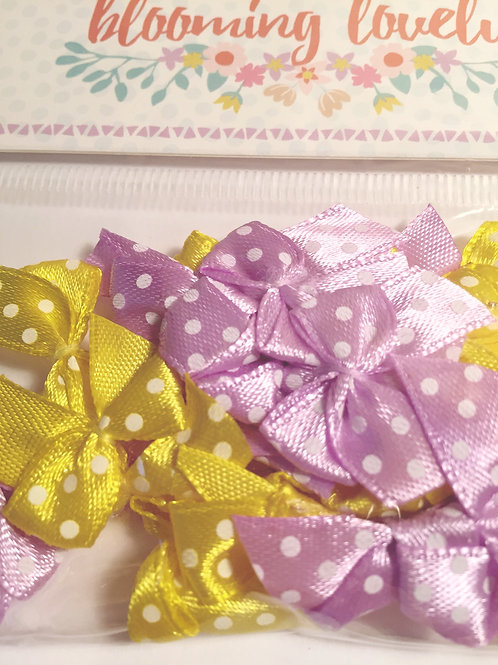Dovecraft Blooming Lovely Mini Bows