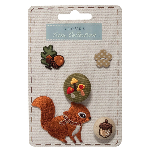 Groves - Woodland Collection - Squirrel