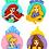 Thumbnail: Disney - The Princesses buttons