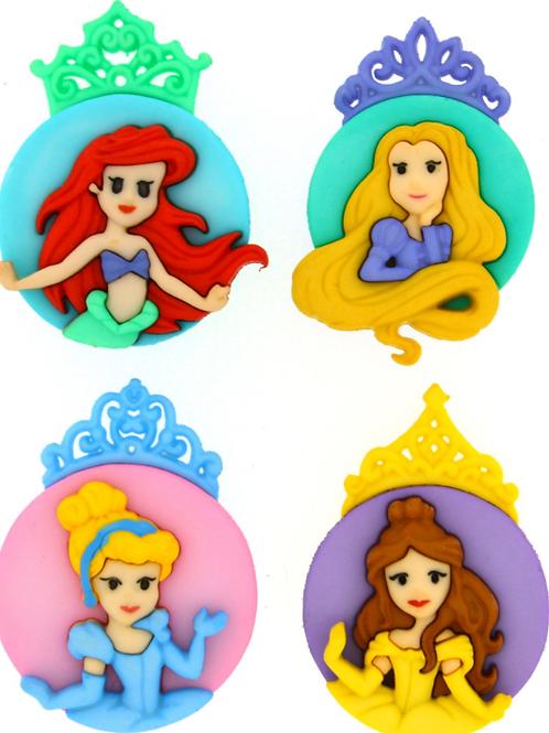 Disney - The Princesses buttons