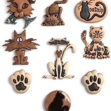 Dress It Up buttons - Alley Cat