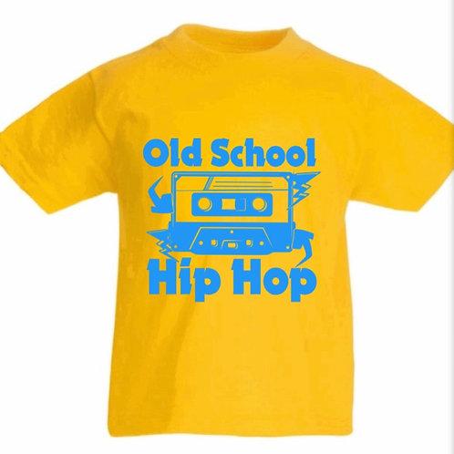 Customisable Old School Hip Hop T-Shirt for kids