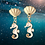 Thumbnail: White Seahorse Earrings