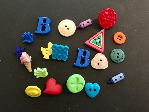 Mixed Bag Buttons