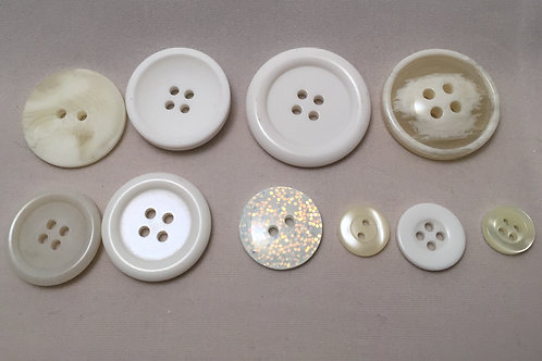 Mixed bag of Vintage Style Light Buttons