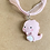 Thumbnail: Baby Pink Dragon Necklace
