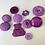 Thumbnail: Assorted Dark Purple Buttons