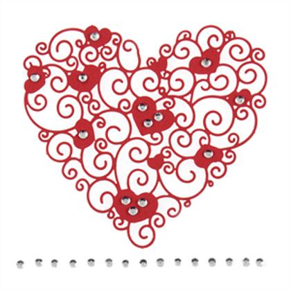 Trimits - Filigree Diamante Heart
