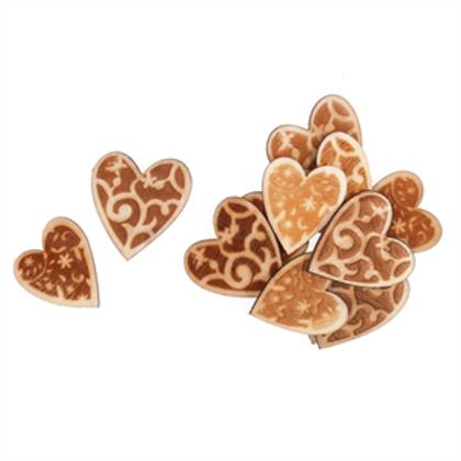 Trimits - Wooden Hearts