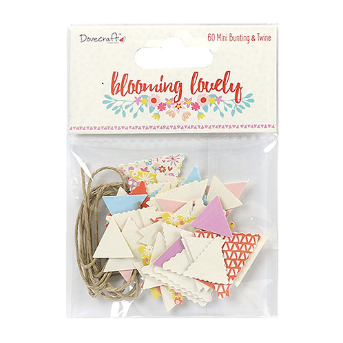 Dovecraft Blooming Lovely Mini Bunting