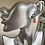 Thumbnail: Land Before Time Orange Dino Earrings