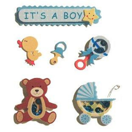It's A Boy - Blue Embellishments