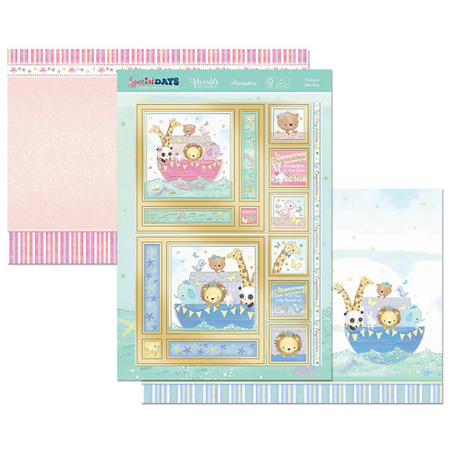 Welcome Little One Topper Set