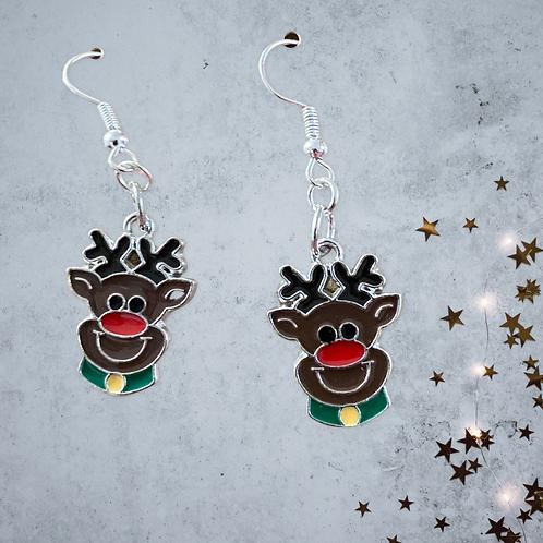 Rudolph Reindeer Earrings