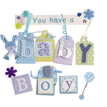 Baby Boy Embellishments