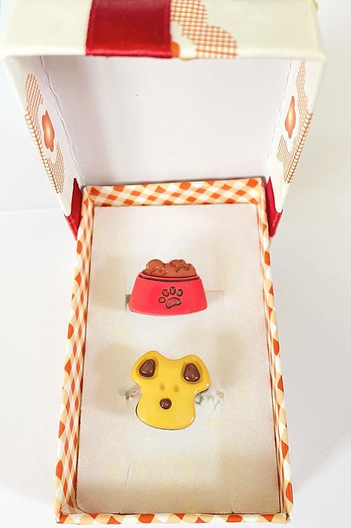 Puppy Ring Gift Set