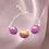 Thumbnail: Purple & Gold Bracelet