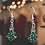 Thumbnail: Fancy Tree Christmas Earrings