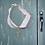 Thumbnail: Organza Ribbon Key Bracelet