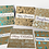 Thumbnail: Patterned Christmas Cards - Pack of 6