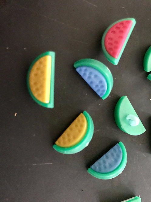 Melon Slice Buttons